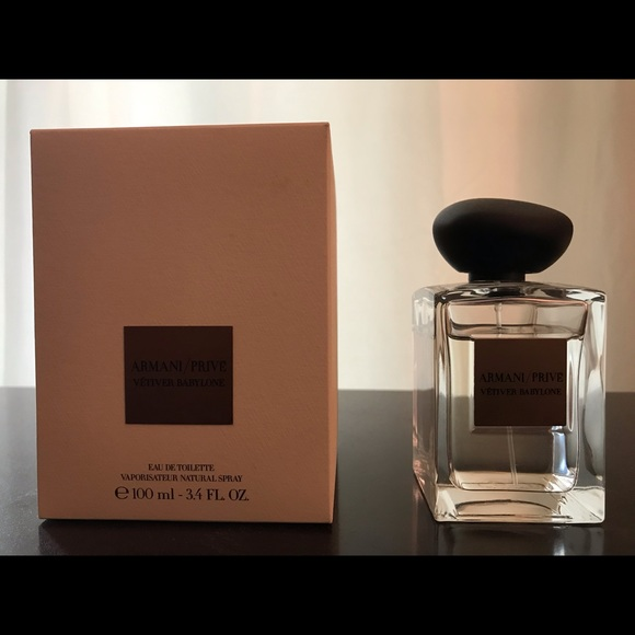 4oz Vetiver Babylone Fragrance Prive Armani 3 j4AL5R